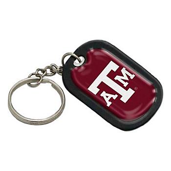 Texas A&M Aggies Dog Tag Keychain