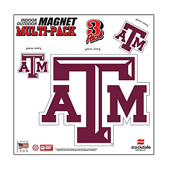 Texas A&M Aggies 8x8 Multi-Pack Magnets