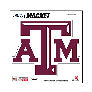 Texas A&M Aggies 6x6 Magnet