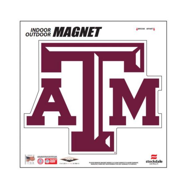 Texas A&M Aggies 6x6 Magnet
