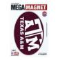 Texas A&M Aggies 5x7 Oval Magnet