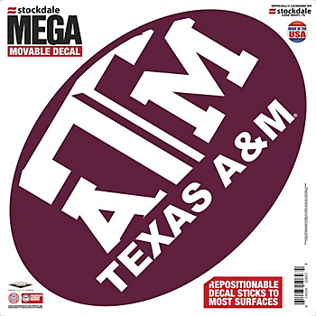 Texas A&M Aggies 12x12 Mega Decal