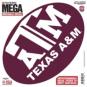 Texas A&M Aggies 12x12 Mega Decal