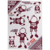Texas A&M Aggies 5x7 Family Decals