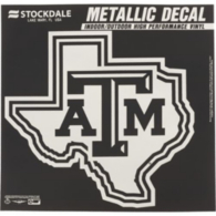Texas A&M Aggies 12x12 Metallic Decal