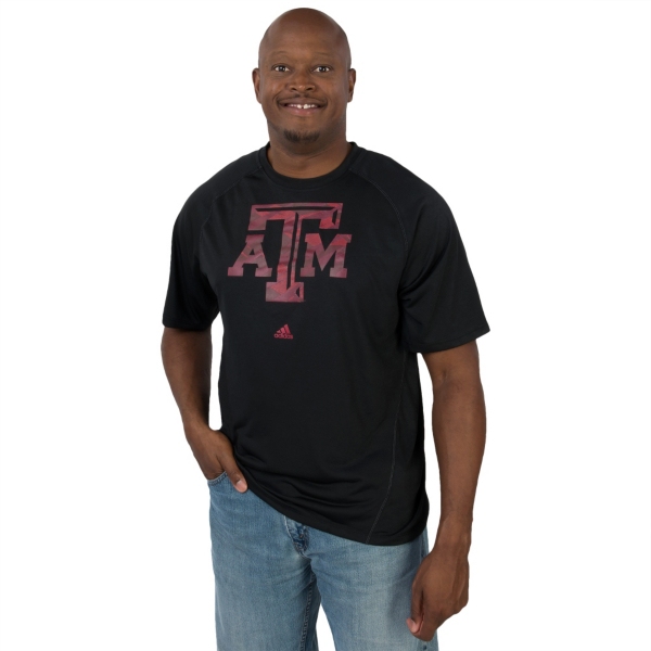 Texas A&M Aggies Adidas Impact Camo Tee