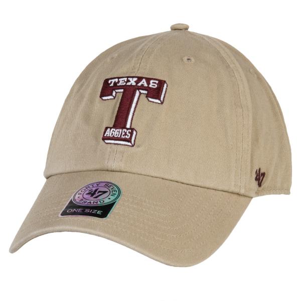 Texas A&M Aggies 47 Khaki Clean Up Cap