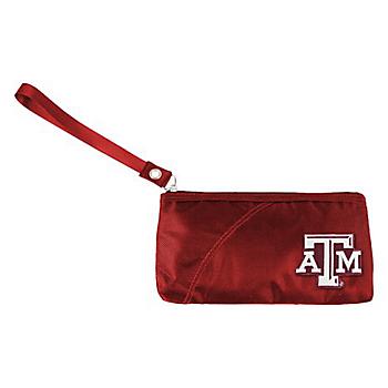 Texas A&M Aggies Color Sheen Wristlet