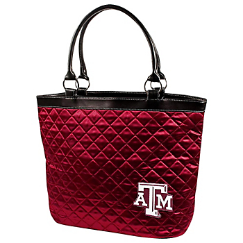 Texas A&M Aggies Quilted Tote