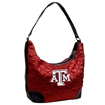 Texas A&M Aggies Quilted Hobo