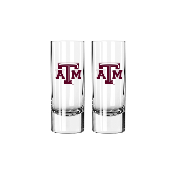 Texas A&M Aggies 2.5 oz Shooter Glass