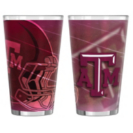 Texas A&M Aggies 16 oz Shadow Pint