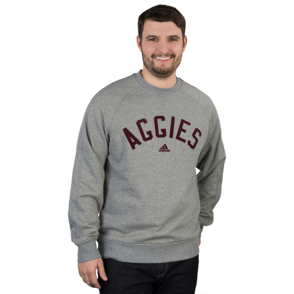 Texas A&M Aggies Adidas Retro Crew