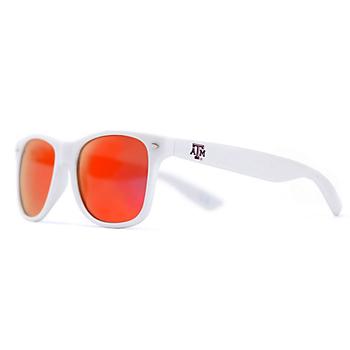 Texas A&M Aggies White Wayfarer Sunglasses
