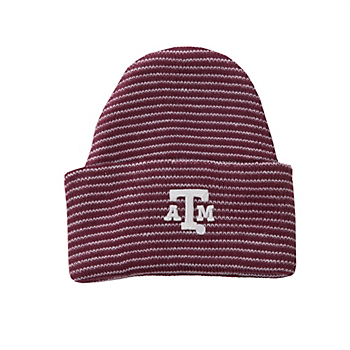 Texas A&M Aggies Infant Stripe Knit Hat