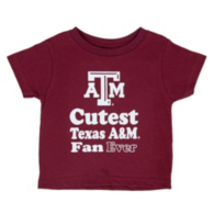 Texas A&M Aggies Toddler Short Sleeve T-Shirt