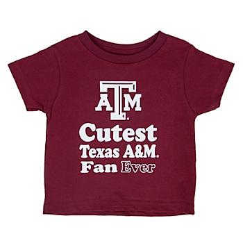 Texas A&M Aggies Toddler Short Sleeve T-Shirt