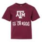 Texas A&M Aggies Youth Short Sleeve T-Shirt