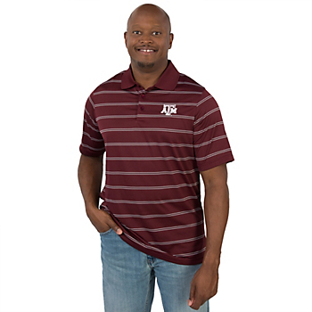 Texas A&M Aggies Antigua Deluxe Polo - Size 3XL