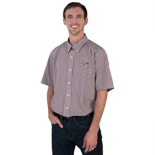 Texas A&M Aggies Antigua Scholar Button Down Shirt