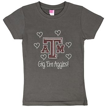 Texas A&M Aggies Crew Neck Tee