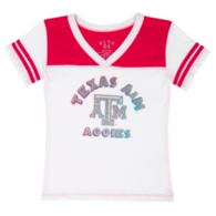Texas A&M Aggies Blue 84 Youth V-Neck Tee