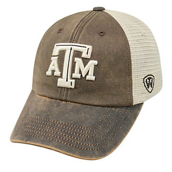 detailed look 720f4 5aa2e Texas A M Aggies Top Of The World Scat Mesh Cap