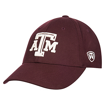 Texas A&M Aggies Top of the World Jock OG 1Fit Cap