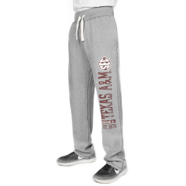 Texas A&M Aggies Fastline Sanded Fleece Pant