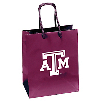 Texas A&M Aggies Crystal Gift Bag