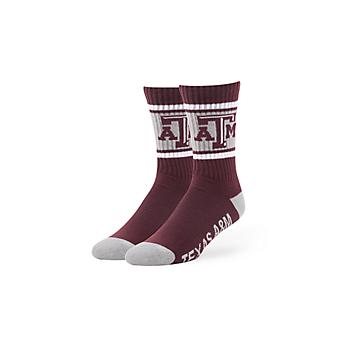 Texas A&M Aggies 47 Maroon Duster Sport Socks