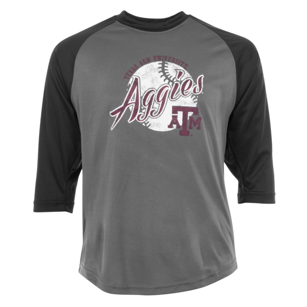 Texas A&M Aggies Badger Youth Baseball T-Shirt