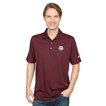 Texas A&M Aggies adidas Golf Polo