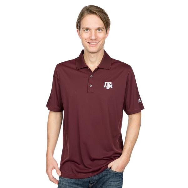 Texas A&M Aggies adidas Golf Polo