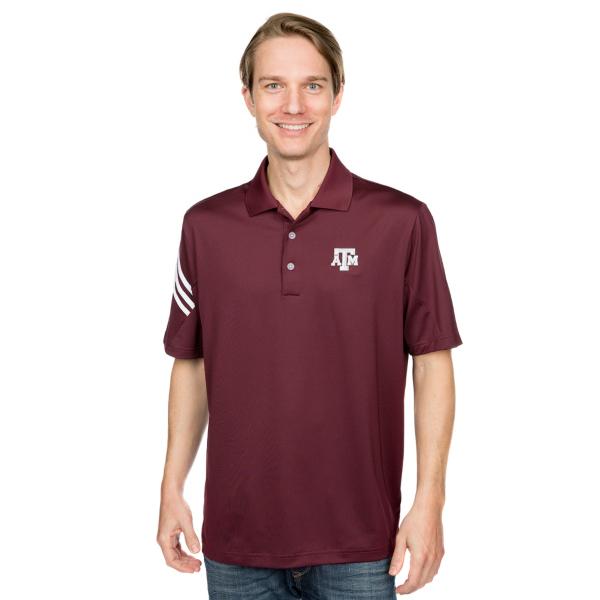 Texas A&M Aggies Adidas Golf Logo Polo