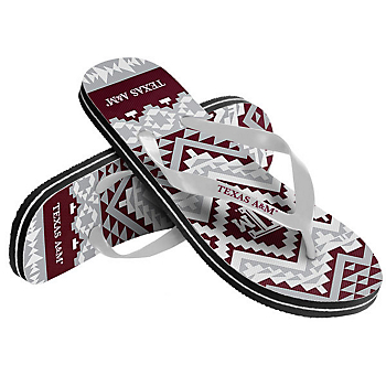 Texas A&M Aggies Women's Aztec Flip Flops