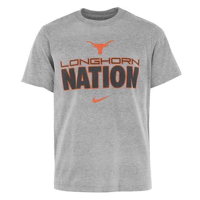Texas Longhorns Nike Youth Cotton Tee
