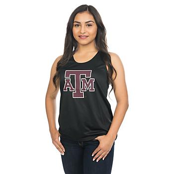 Texas A&M Aggies Badger Ladies Racerback Tank