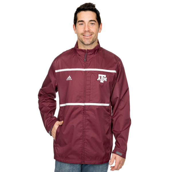 Texas A&M Aggies Adidas Full Zip Jacket