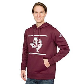 Texas A&M Aggies Adidas Energize Pullover Hoody