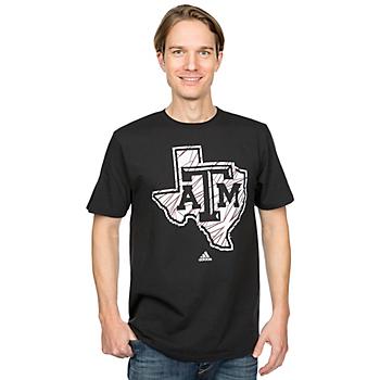 Texas A&M Aggies Adidas Loud Logo Tee