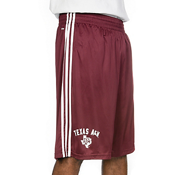 Texas A&M Aggies Adidas United Arch Short