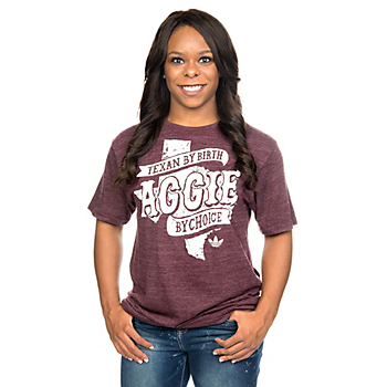 Texas A&M Aggies Adidas Womens Texan Aggies Tee