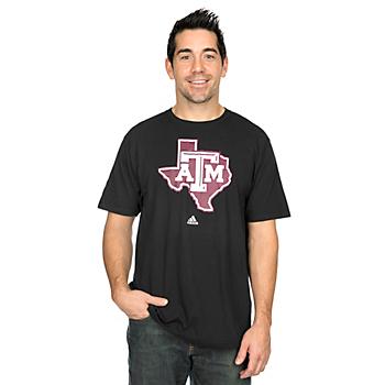 Texas A&M Aggies Adidas Logo Tech Go To Tee