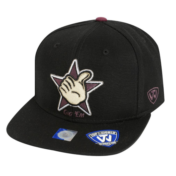 Texas A&M Aggies Top of the World Xplosion Snapback Cap