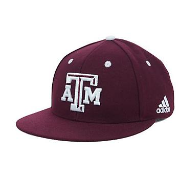 Texas A&M Aggies Adidas On Field Mesh Baseball Cap