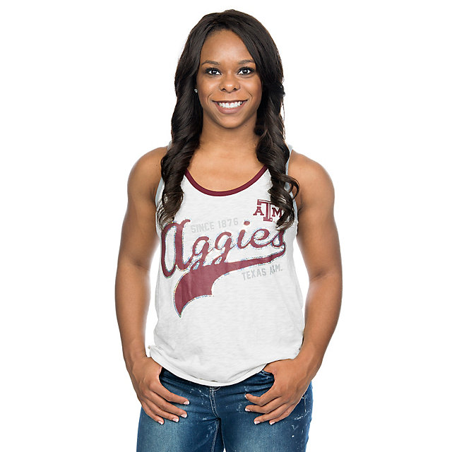 Texas A&M Aggies G-III 4Her Womens Drop Back Tank