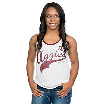 Texas A&M Aggies G-III 4Her Womens Drop Back Tank