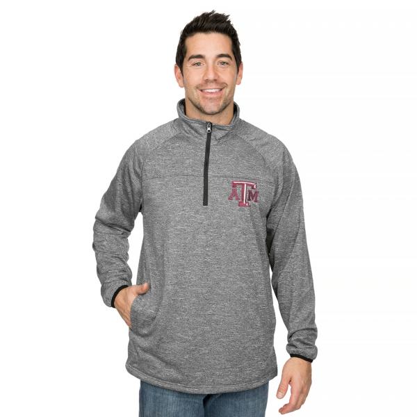 Texas A&M Aggies GIII Franchise 1/4 Zip Fleece Pullover