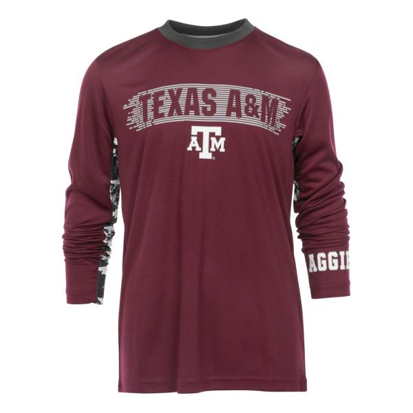 Texas A&M Aggies Youth Oil Slick Kicker Tee